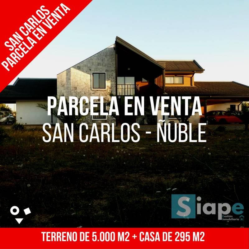 CASA DE 295 M2 EN PARCELA  5.000 M2 EN  SAN CARLOS