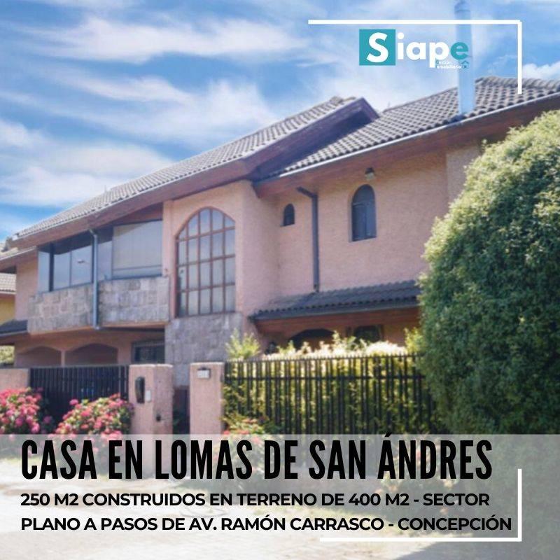 CASA DE 250 M2 EN LOMAS DE SAN ANDRÉS - CONCEPCIÓN