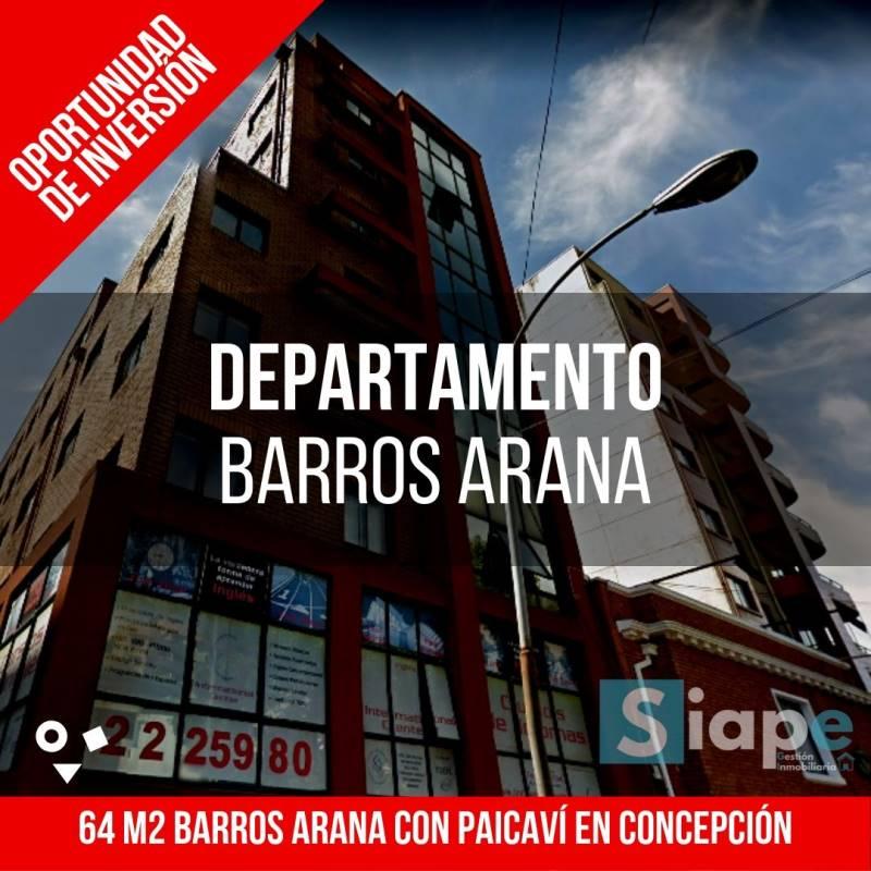 DEPARTAMENTO DE 64 M2 A PASOS DEL CENTRO - CONCEPCIÓN