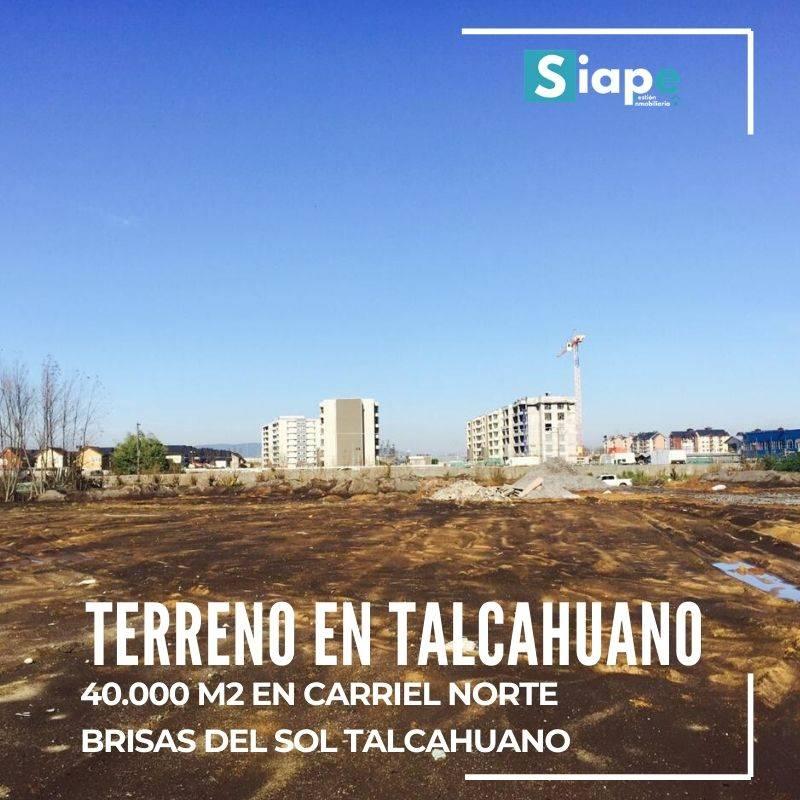 TERRENO DE 40.000 M2 EN SECTOR BRISAS DEL SOL EN TALCAHUANO