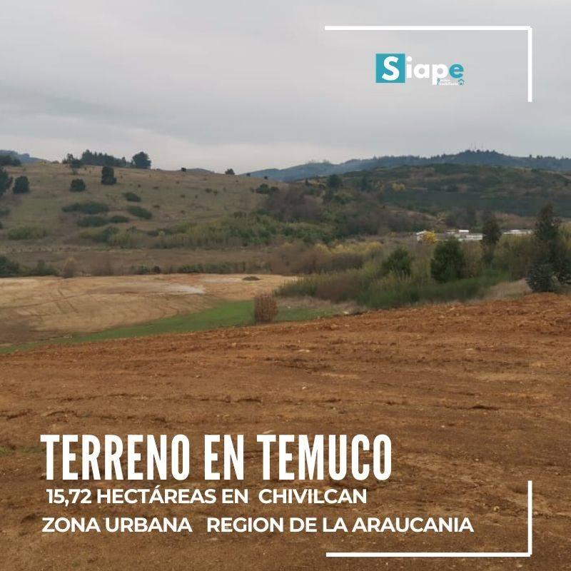 TERRENO 15.72 HECTÁREAS ZONA URBANA   DE TEMUCO