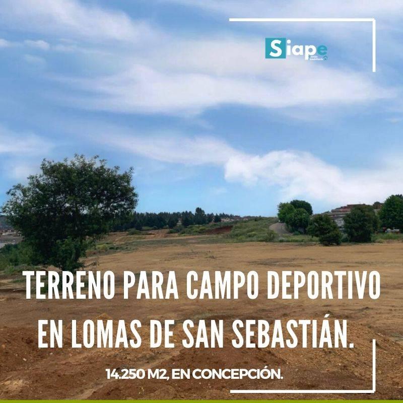 TERRENO PARA DESARROLLO DE CAMPO DEPORTIVO - CONCEPCIÓN