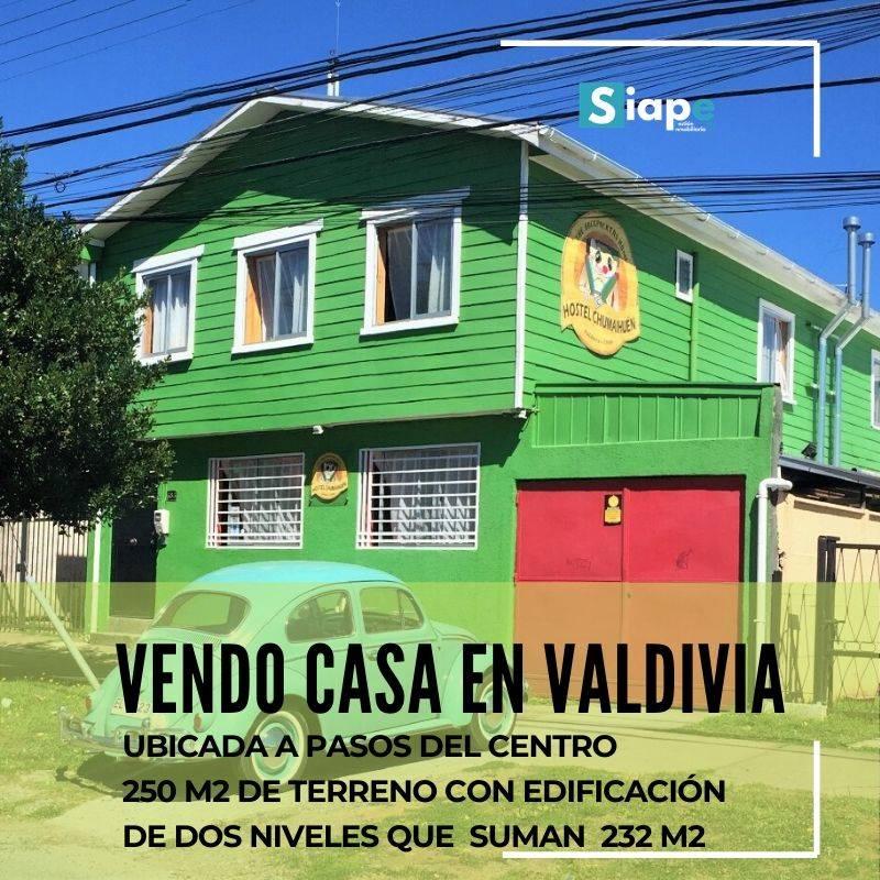 VENDO CASA EN VALDIVIA COMPLETAMENTE AMOBLADA.