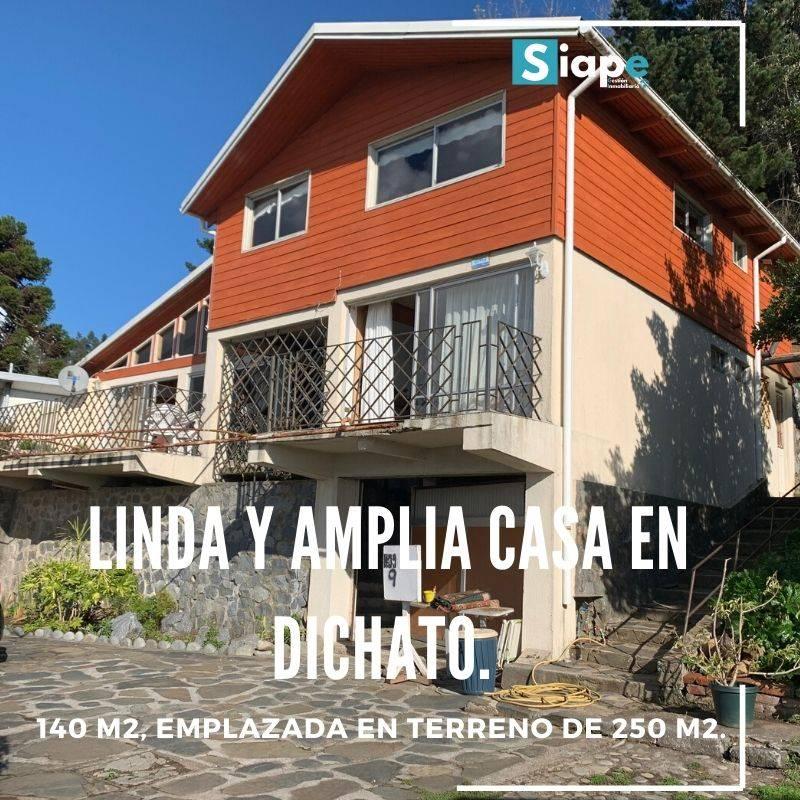 LINDA Y AMPLIA CASA EN DICHATO